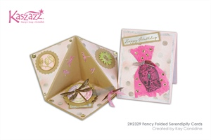 2H2329 Fancy Folded Serendipity Cards