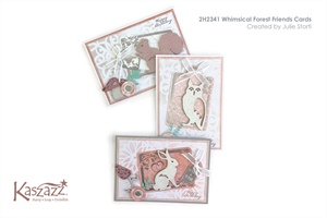 2H2341 Whimsical Forest Friends Cards